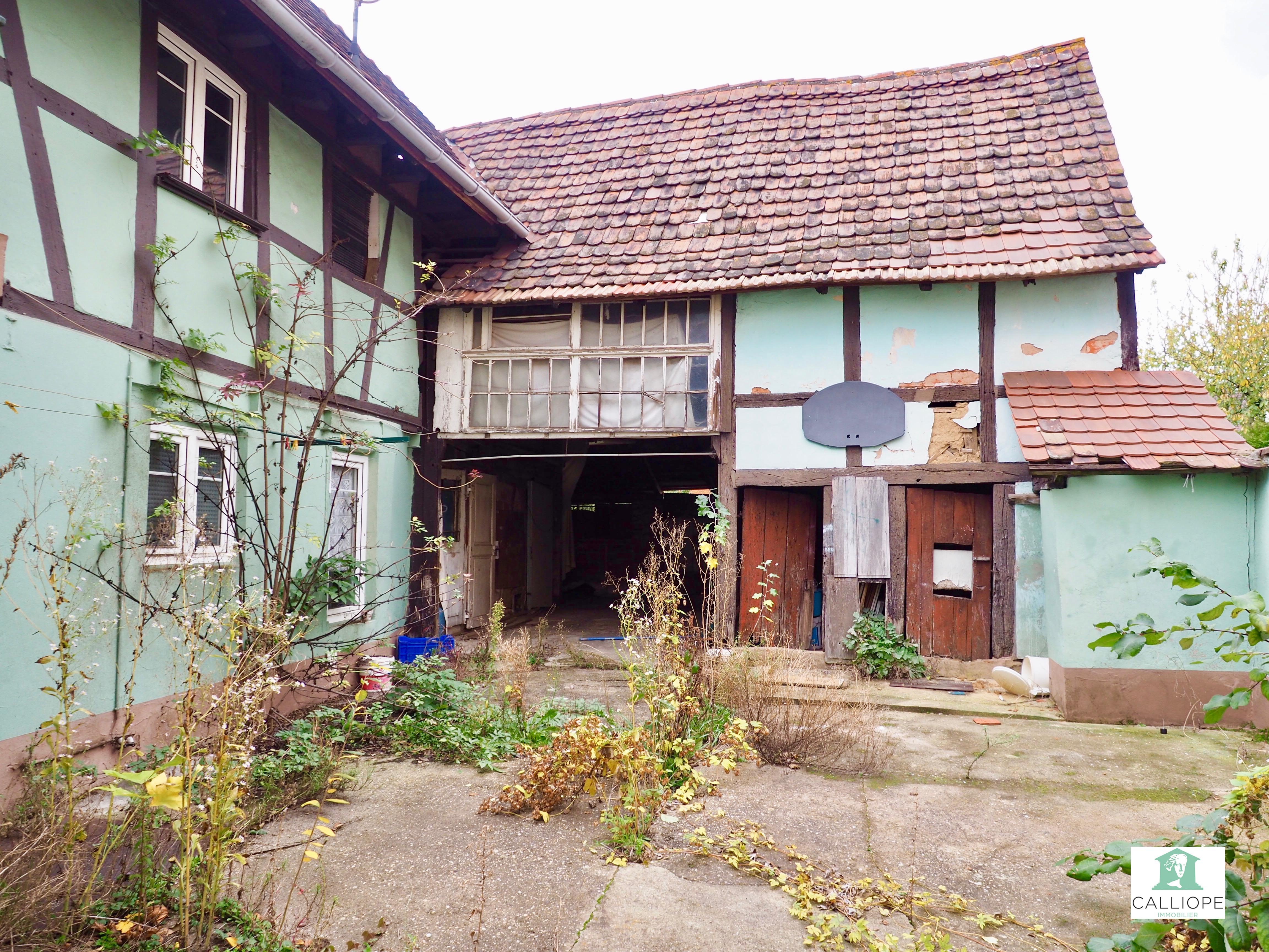 Rénover Une Maison Alsacienne maison alsacienne à brumath – calliope immobilier